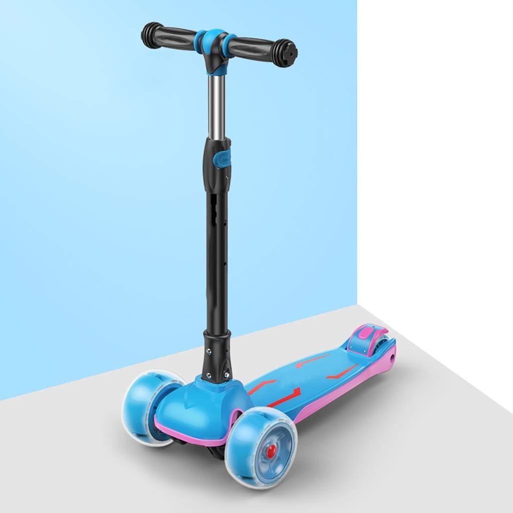 Foldable子供3の車輪のキックスクーター B07QYC64HS - PUの耐久力のある抜け目がない車輪 - B07QYC64HS, 手作り「キムチ」専門店:76784c4f --- ferraridentalclinic.com.lb
