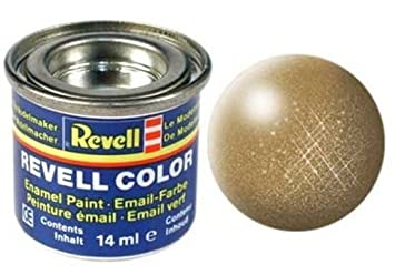 Revell 32192 - Bote de Pintura (14 ml), Color latón Metalizado