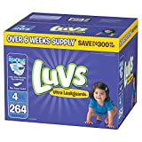 Branded Luvs Ultra Leakguards Diapers - Diaper Size Size 4 - 264