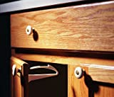KidCo Adhesive Mount Cabinet and Drawer Lock, 12 Count