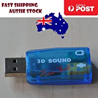 3pcs Sound Card Audio Adapter 3D 5.1 USB 3.5mm Microphone Headphone Jack Stereo - Asia Sell