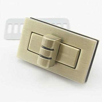 4.1 cm x 2.3 cm), color dorado/plateado/níquel/de bronce ...