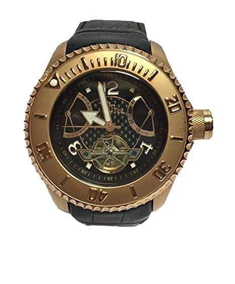 Ver chicas TIEMPO VIP 15043AN correa de piel automática: Amazon.es: Relojes