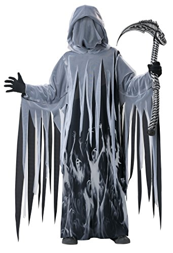 Grave Ghoul Child Halloween Costume (California Costumes Soul Taker Child Costume,)