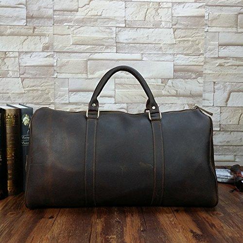 DJB/ Leder Mann Tasche Retro-Wildleder Leder Schulter Handtasche Crazy Horse Leder Business Tasche bulk