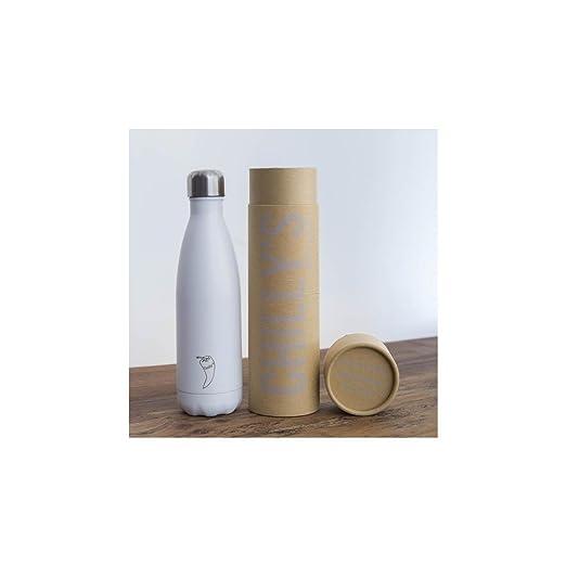 2 opinioni per Chilly's Bottles- Bottiglia riutilizzabile a doppia parete, con isolamento sotto