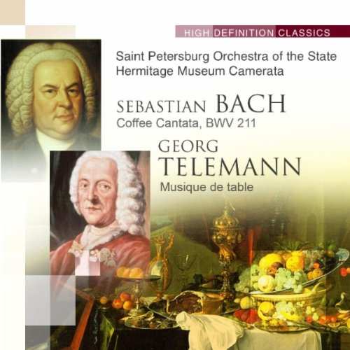 Coffee Cantata, BWV 211 : Terzetto (soprano, tenore, basso) (Elena Table Coffee)