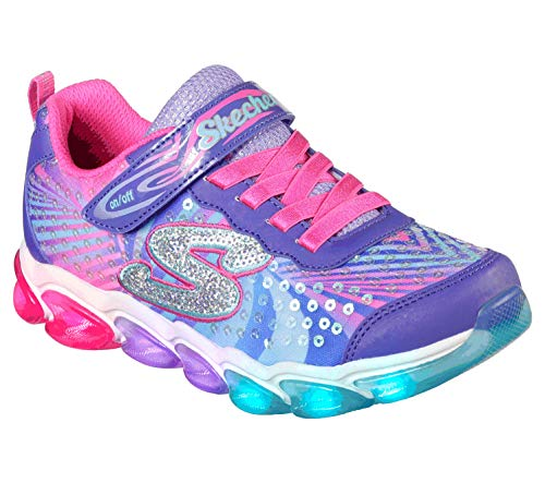 Jelly Beams Sneaker, Purple/Multi, 12 Medium US Little Kid ()