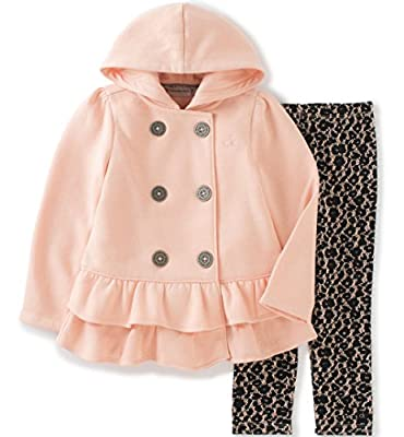 Calvin Klein Baby Girls' Hooded Ruffled Jacket with Leggings Set by Calvin Klein Layette & Sets Children's Apparel that we recomend individually.