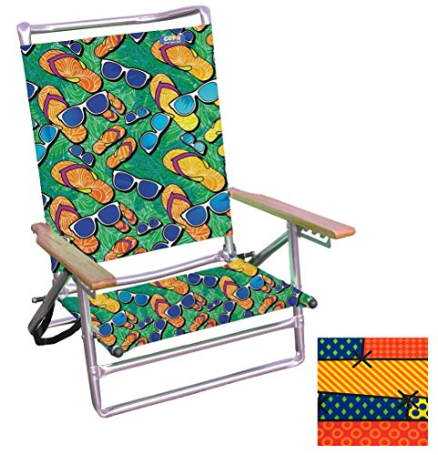 Beach Chair 5 Position Lay-Flat Patterns pkg/1