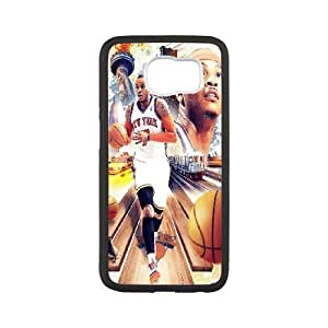 Custom High Quality WUCHAOGUI Phone case Carmelo anthony - New York Nicks Protective Case For Samsung Galaxy S6 - Case-13