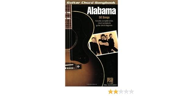 Guitar Chord Songbook Alabama Guitar Chord Songbooks Kindle
