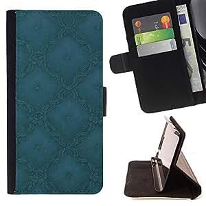 - Simple Pattern 1 - - Monedero PU titular de la tarjeta de cr????dito de cuero cubierta de la caja de la bolsa FOR Samsung Galaxy Core Prime RetroCandy