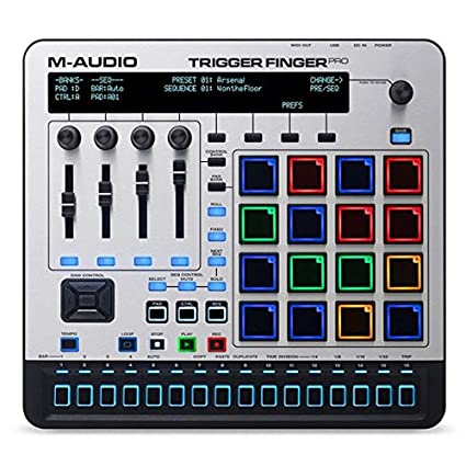 Over Synched Brains Trigger Out Of Step >> Amazon Com M Audio Trigger Finger Pro Usb Controller With Step