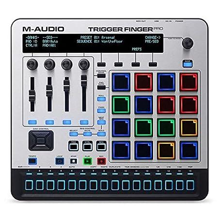 M-Audio Trigger Finger Pro | USB MIDI Controller mit Step Sequencer ...