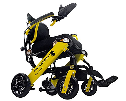 Forcemech Voyager R2- Ultra Portable Folding Power Wheelchair - Weights Only 43...
