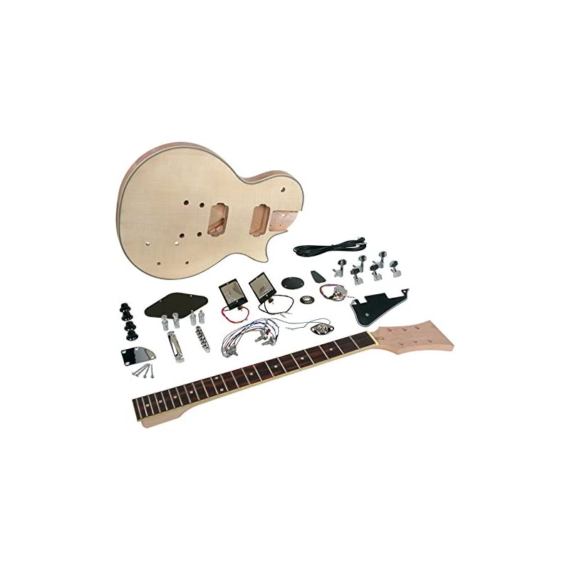Saga LC-10 Deluxe Electric Guitar Kit -