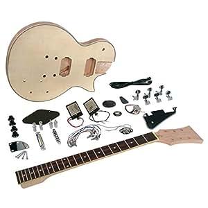 Saga LC-10 Deluxe Electric Guitar Kit - Single Cutaway