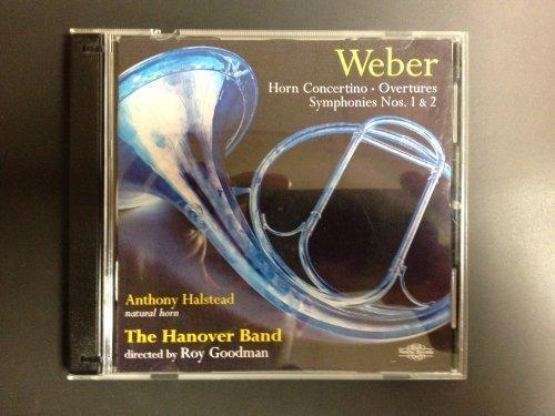 Weber: Symphonies 1 & 2/Horn Concertino