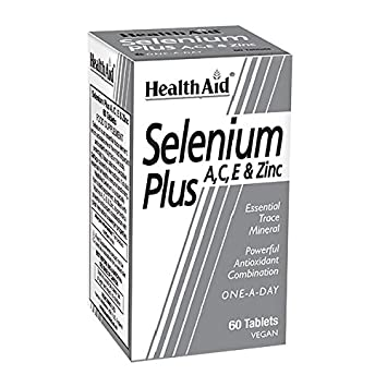 Health Aid Selenium Plus (Vitamins A, C, E & Zinc) 60 Tablets