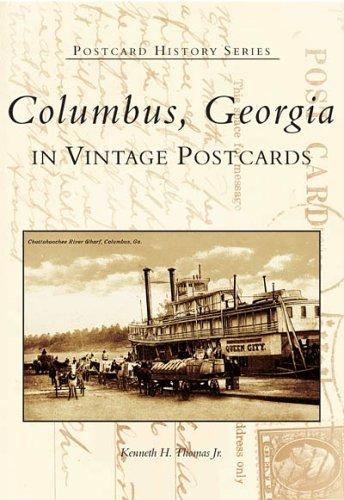 Georgia Ga Postcard (Columbus, Georgia in Vintage Postcards (GA) (Postcard History)