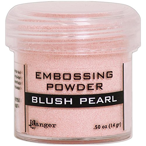 (Ranger Embossing Powder .52oz - Blush Pearl)