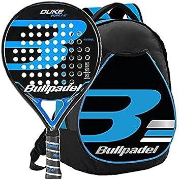 Kit Bull Padel Duke mochila + pala (Azul): Amazon.es: Deportes y ...