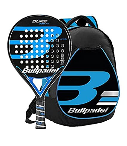 Kit Bull Padel Duke mochila + pala (Azul): Amazon.es ...