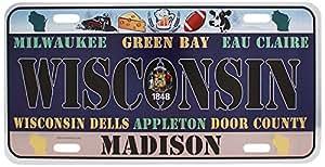 Dimension 9 Home Decorative Plate Wisconsin