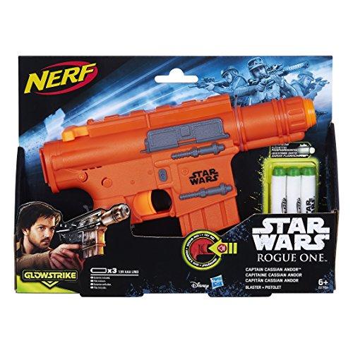 Star-Wars-Rogue-One-Lanzadardos-con-luces-Capitn-Cassian-Blaster-2-dardos-Hasbro-B7764EU4