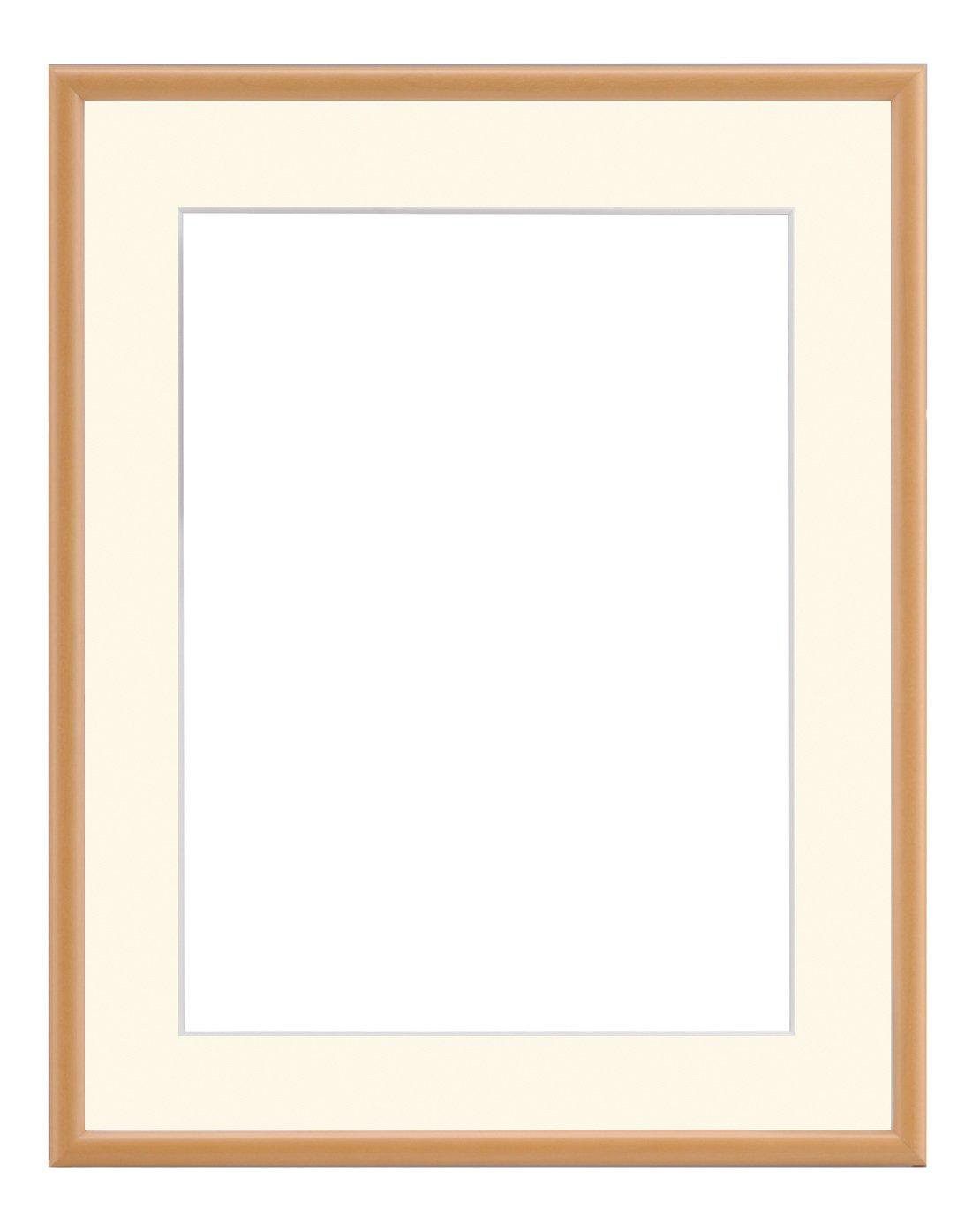 大額 水彩額 水彩F8 ナチュラル 55巾 アクリル 6700(02) B00EH2D6LC ナチュラル ナチュラル