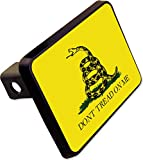 Cheap DONT TREAD ON ME Flag Trailer Hitch Cover Plug Military Novelty