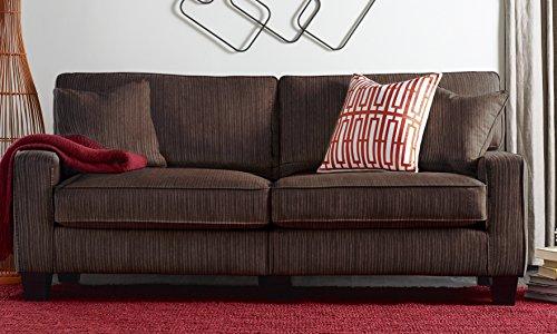 San Paolo Sofa, Polyester/Polyester Blend, Modern, Stationar