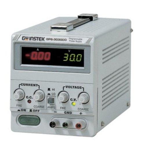 Instek GPS-3030DD DC Power Supply GPS3030DD 0 ~ 30V 0 ~ 3A Single Output Dual Display Programmable Power Supply