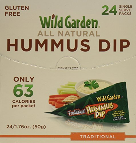 Wild Garden Hummus Dip. Traditional Hummus, 1.76 Ounces (Pack of (Wild Garden Hummus Dip)