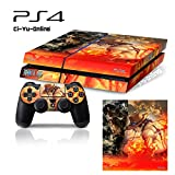 Ci-Yu-Online VINYL SKIN [PS4] One Piece #5 Whole Body VINYL SKIN STICKER DECAL COVER for PS4 Playstation 4 System Console and Controllers - One Piece #5