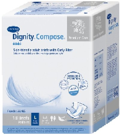 Hartmann Briefs (222425 Brief Dignity Compose Adult Large 72 Per Case sold as Case by Hartmann USA)