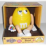 Candyrific M&M's Yellow Character Limited Edition Bowl 2014