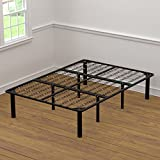 Handy Living 2-in-1 Bed Frame and Box Spring Combination, Full