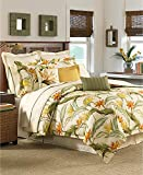 Tommy Bahama Home Birds of Paradise 4 Piece Queen Comforter Set Coconut
