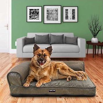 Kirkland Signature de Espuma con Efecto Memoria para Cama para Mascotas en Color marrón: Amazon.es: Productos para mascotas