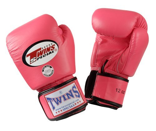 Twins Special Boxing Gloves (Pink) (12 Ounce)