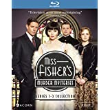 Miss Fisher's Murder Mysteries Series 1-3 Collection