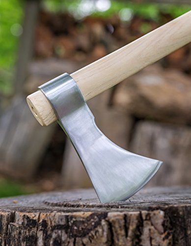 Thrower Supply Hand-Forged Carbon Steel Tomahawk, Chrome Polished by Thrower Supply (Image #4)