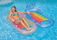Intex King Kool 58802EP Inflatable Lounging Swimming Pool Float, Multi-Colored