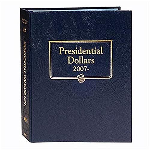 Whitman US Presidential Dollar Coin Album 2007-2016 Date Set #2183