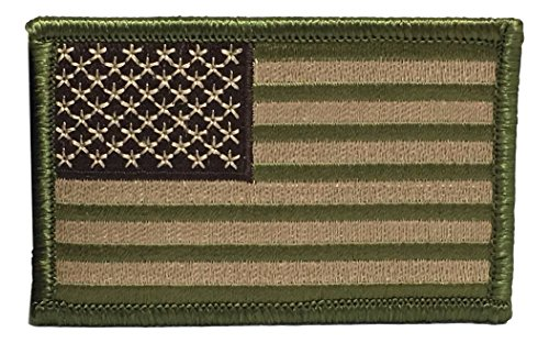 tactical multi tan us flag