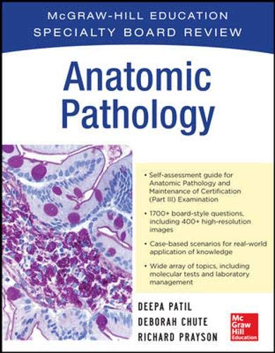 McGraw-Hill Specialty Board Review Anatomic Pathology (Emergency Medicine Review Preparing For The Boards)