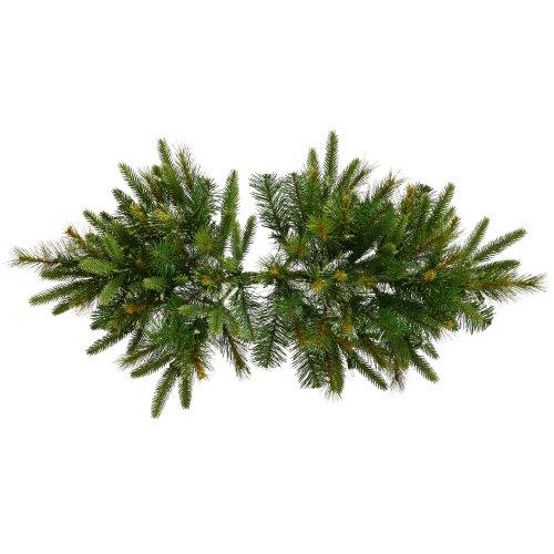 Vickerman Cashmere Swag, 36-Inch, Pine Green by Vickerman