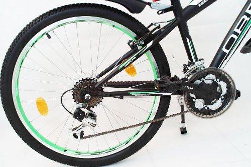 Orbis Bikes 24 Zoll MTB Mountainbike FEDERGABEL JUGENDFAHRRAD Jungen Kinder Fahrrad KINDERFAHRRAD Bike Escape GR/ÜN